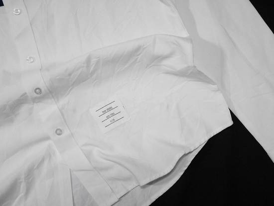 Thom Browne Thom Browne Tristripe Grosgrain Oxford Pocket Shirt Size US L / EU 52-54 / 3 - 4