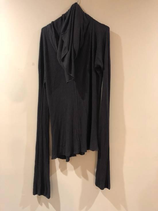 Julius FW09 CANON_2 Rayon/Silk Cowl Neck Long Tee Size US M / EU 48-50 / 2