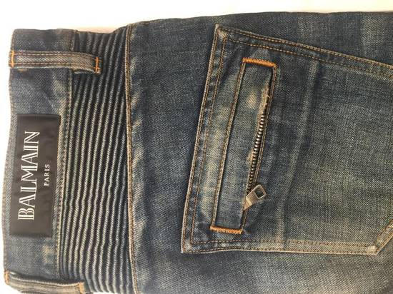 Balmain Biker Denim Size US 29 - 2