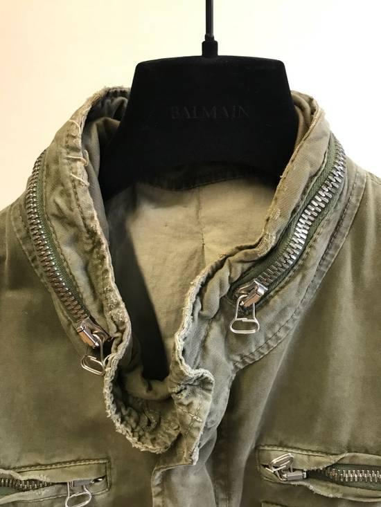 Balmain Decarnin Destroyed Saharian Jacket Size US M / EU 48-50 / 2 - 2