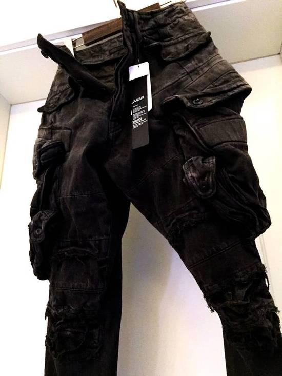 Julius Julius Distressed Gasmask Cargo Pants Size US 30 / EU 46 - 17