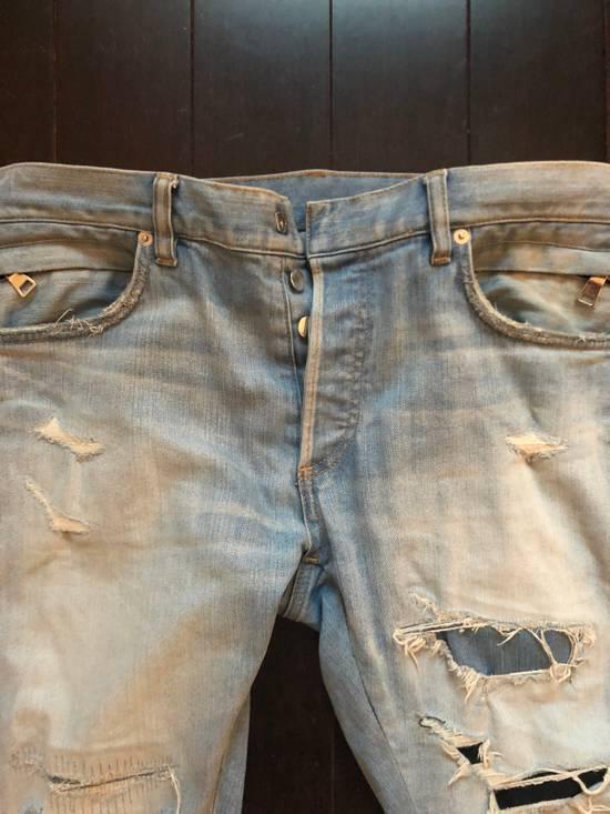 Balmain Balmain jeans distressed light indigo Size US 31 - 1