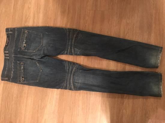 Balmain Moto Jean Size US 29 - 1