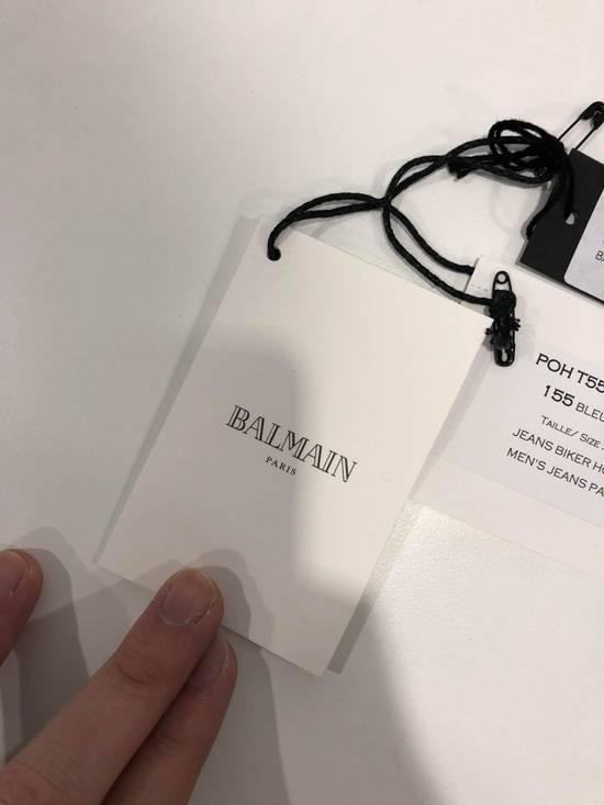 Balmain Balmain Destroyed Slim Fit Biker Jeans Size US 32 / EU 48 - 12