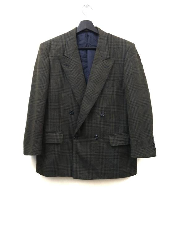 Givenchy Tailored Glen Plaid Blazers Size 38R