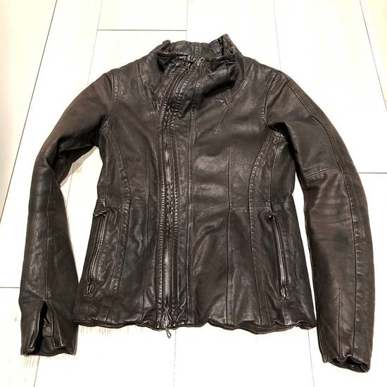 Julius Julius Goat Skin Leather Jacket Size US S / EU 44-46 / 1 - 6