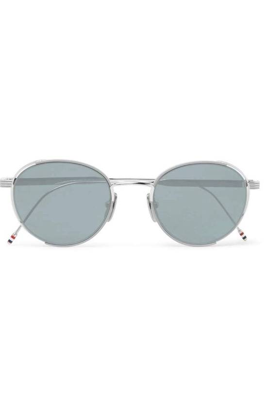 Thom Browne Silver Glasses Size ONE SIZE - 1