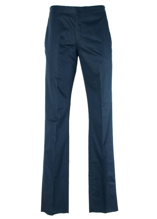 Givenchy Givenchy Men's Navy W/ Red Accent Cotton Trousers Size US 32 / EU 48