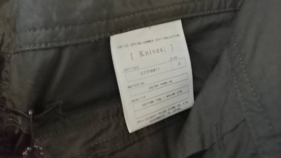 Julius BNWT 2017SS Limited Cargo Slit Cut Flare Wide Pants Size US 32 / EU 48 - 9