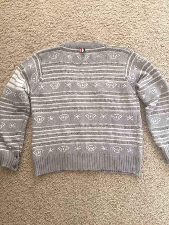 Thom Browne Gray Sweater Size 4 $650 Size US XL / EU 56 / 4 - 3