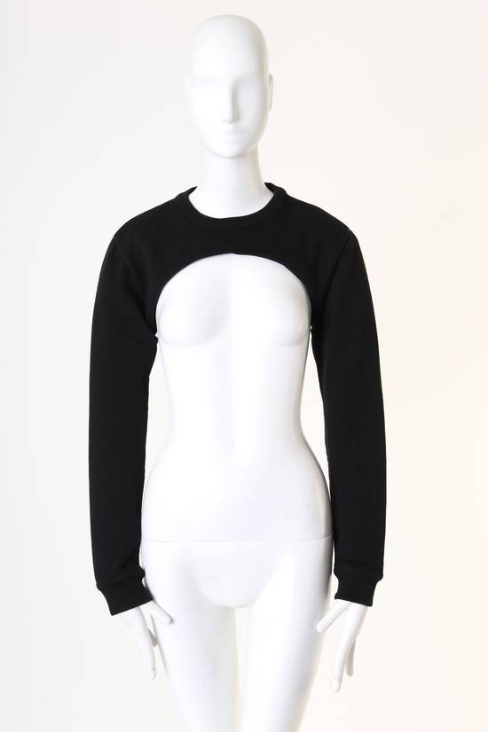Givenchy GIVENCHY RICCARDO TISCI RT black crew neck cropped sweater long sleeves top XS Size US XS / EU 42 / 0
