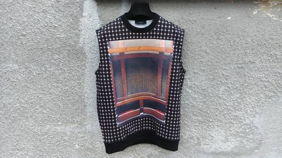 Givenchy $795 Givenchy Wooden Frame Rottweiler Sleeveless Sweater Vest T-shirt size M (Relaxed Fit) Size US M / EU 48-50 / 2