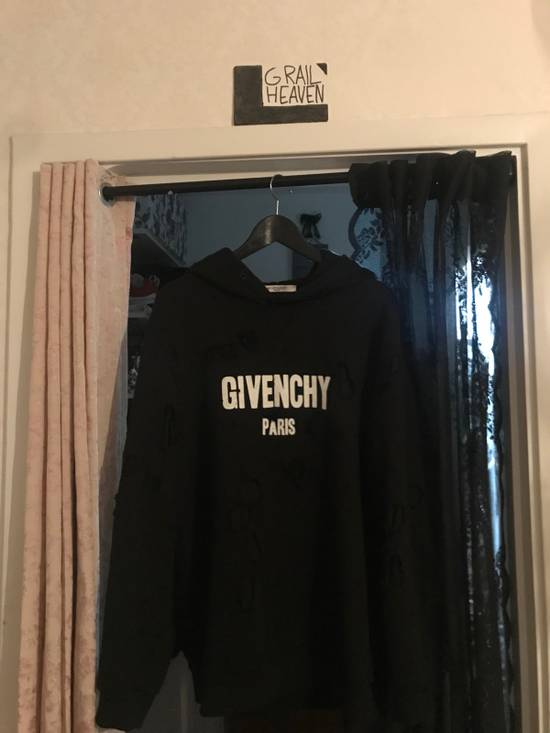 Givenchy Destroyed Hoodie Size US L / EU 52-54 / 3