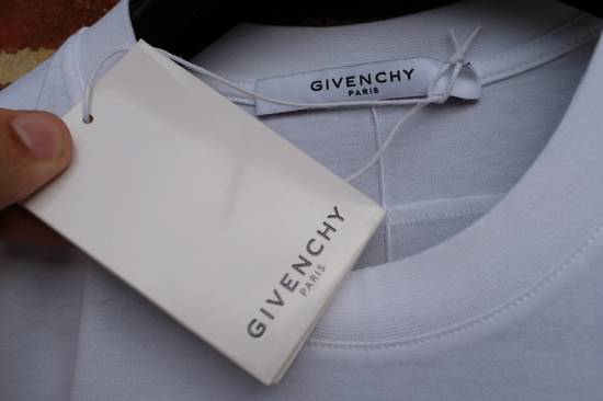 Givenchy White Fighting Rottweilers T-shirt Size US XS / EU 42 / 0 - 5