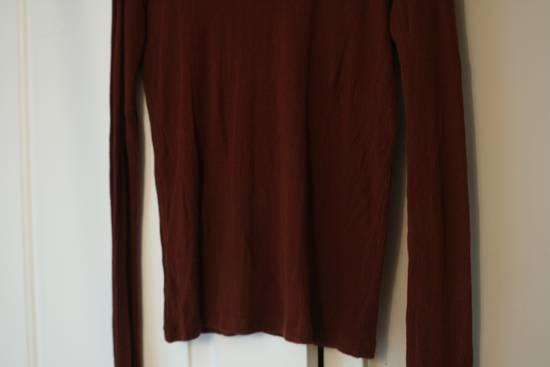 Julius FW08 Blood Red Cotton/Cashmere Rib L/S Size US S / EU 44-46 / 1 - 9