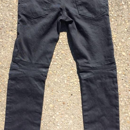 Balmain Gray Biker Jeans Size US 27 - 8