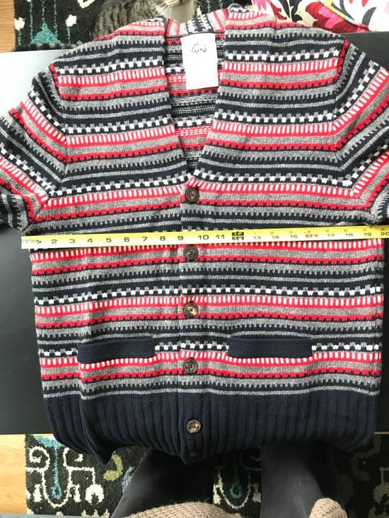 Thom Browne Black Fleece Wool Chunky Cardigan Size US L / EU 52-54 / 3 - 5