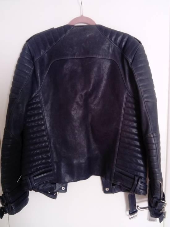 Balmain *Final Drop* Quilted leather biker jacket 54 Size US L / EU 52-54 / 3 - 3