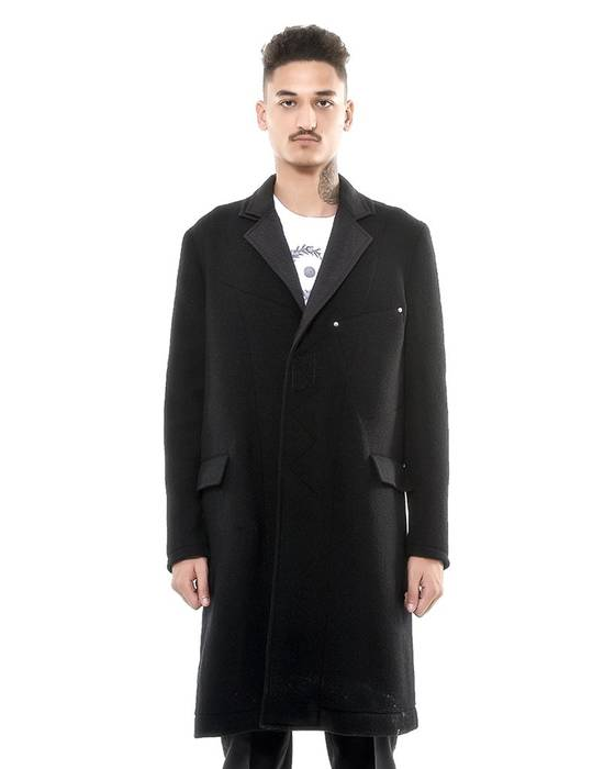 Givenchy Givenchy Zipped Sleeves Long Coat (Size - 52) Size US L / EU 52-54 / 3
