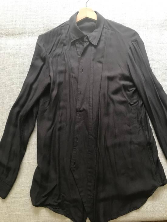 Julius AW16 charcoal with angle edge at bottom shirt Size US S / EU 44-46 / 1