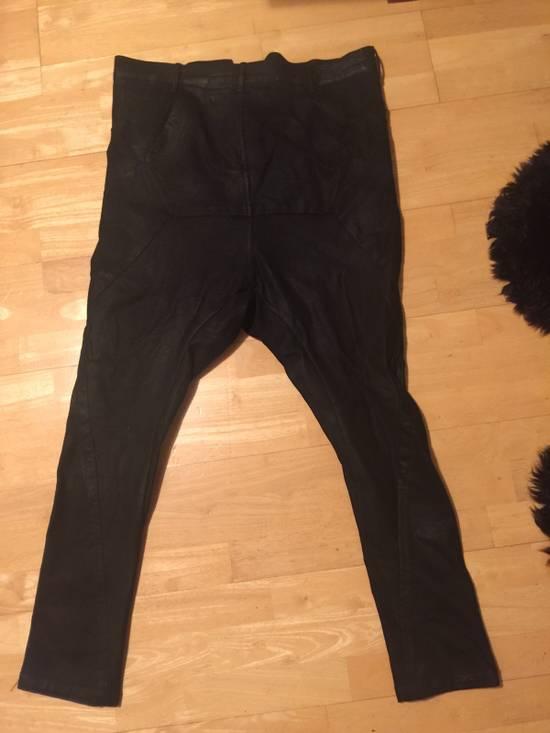 "Julius Coated Knit denim pants ""prism;"" Size US 34 / EU 50"