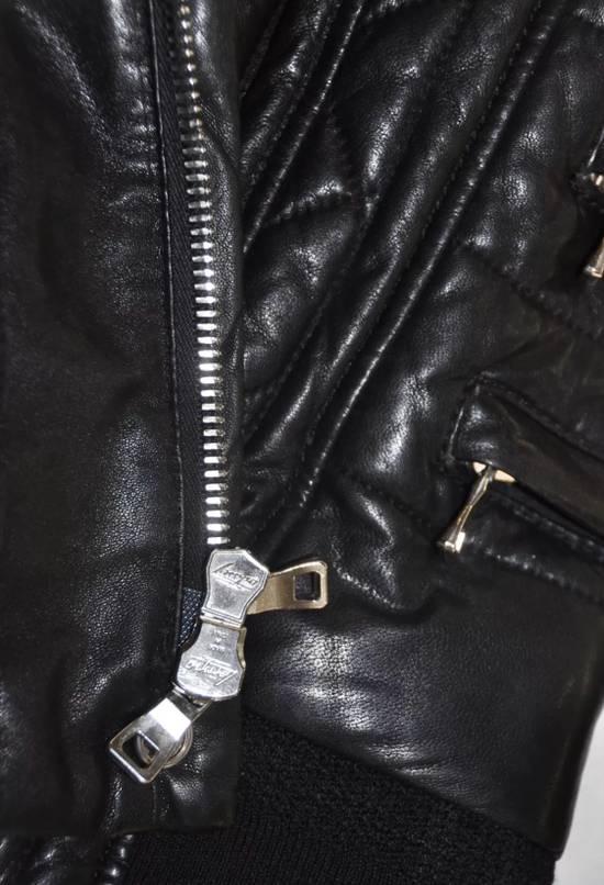Balmain Quilted Biker Leather Jacket Size US S / EU 44-46 / 1 - 6