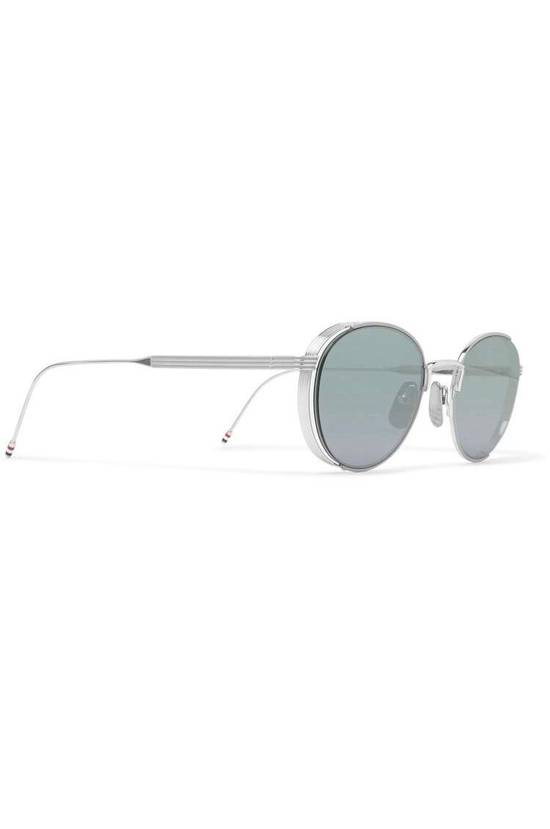 Thom Browne Silver Glasses Size ONE SIZE