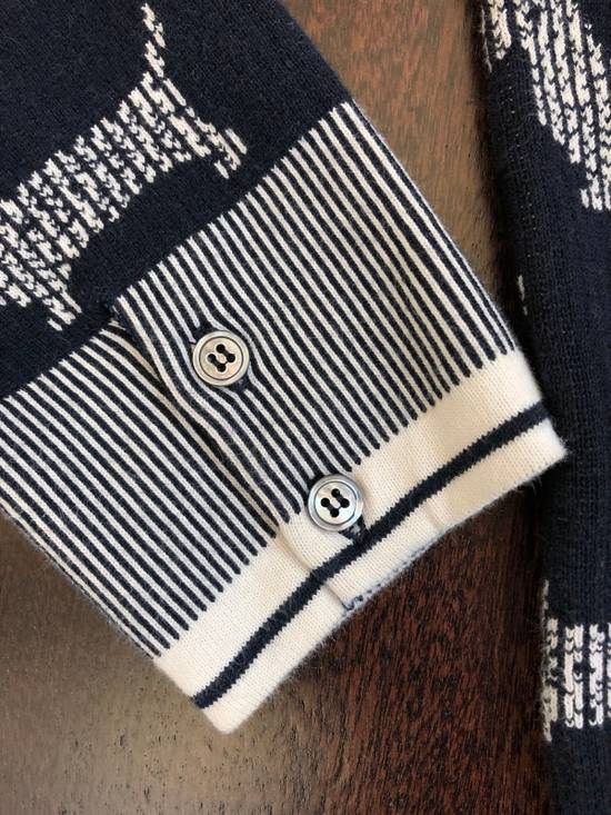 Thom Browne Dog Print Sweater Size US L / EU 52-54 / 3 - 4
