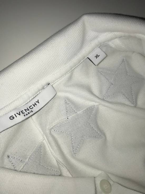 Givenchy Givenchy White Polo With Embroidered Stars Size US XL / EU 56 / 4 - 4