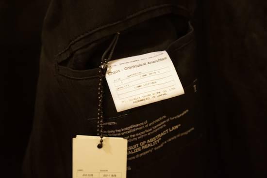 Julius Lamb Leather Jacket - s/s 11 Chaos Ontological Anarchism Size US S / EU 44-46 / 1 - 5