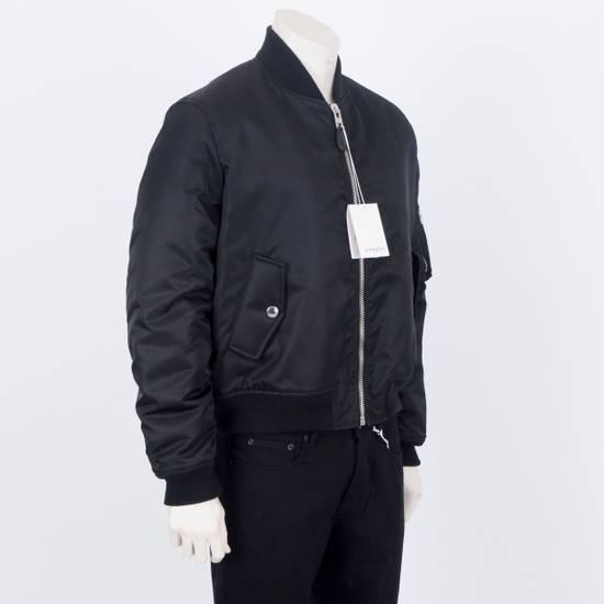 Givenchy 2550$ New Black Padded Nylon Illuminati Patch Bomber Jacket Size US L / EU 52-54 / 3 - 4