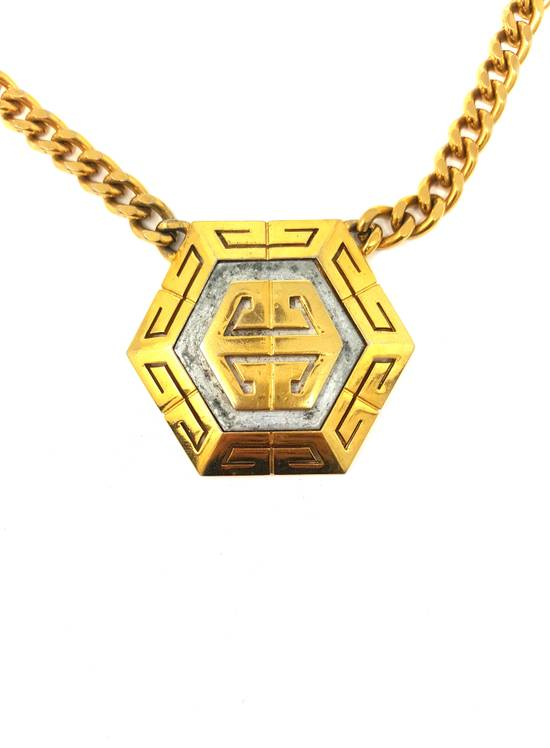 Givenchy Gold plated logo necklace Size ONE SIZE - 2
