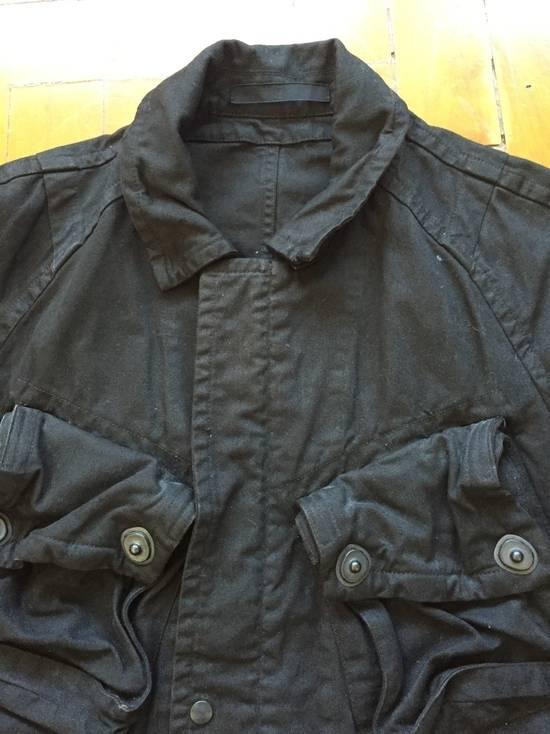 Julius AW08 Gas mask cargo pocket denim jacket Size US S / EU 44-46 / 1 - 14