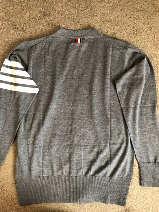 Thom Browne Merino Wool 4 Bar Cardigan Size US L / EU 52-54 / 3 - 1