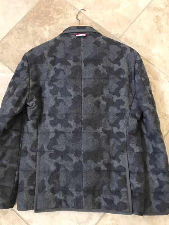 Thom Browne Moncler Gamme Bleu Camo Cashmere Blazer Size 38R - 2