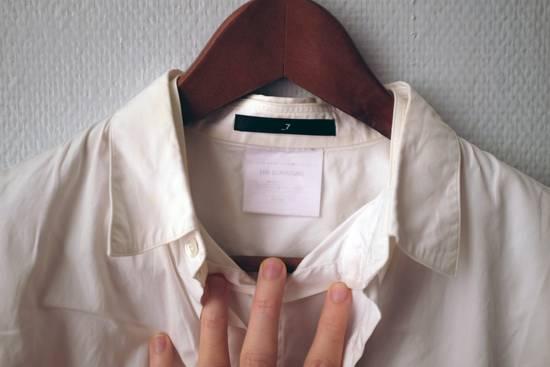 Julius Double-layer/collar White Shirt Size US S / EU 44-46 / 1 - 2