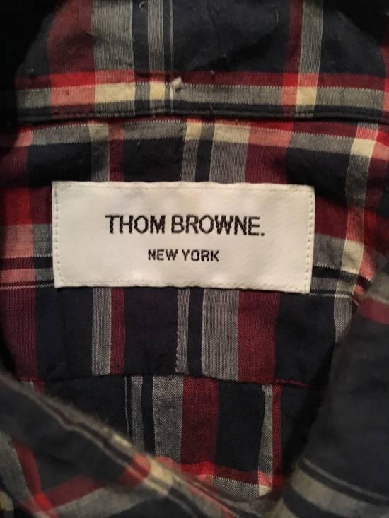 Thom Browne Plaid Madras Shirt Small Medium Size 1 Size US S / EU 44-46 / 1 - 3