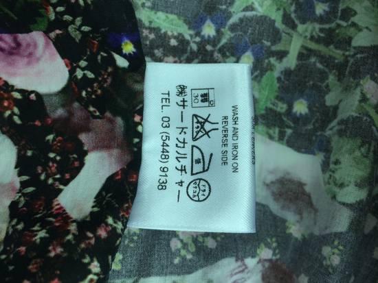 Givenchy GIVENCHY Pre14 reversed panel rose floral digital print cotton shirt US40 FR50 Size US M / EU 48-50 / 2 - 11
