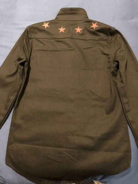 Givenchy Star Denim Shirt Size US M / EU 48-50 / 2 - 2