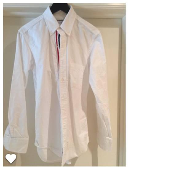 Thom Browne Classic Slim-Fit Button-Down Collar Cotton Oxford Shirt Grosgrain Placket Size US M / EU 48-50 / 2 - 1
