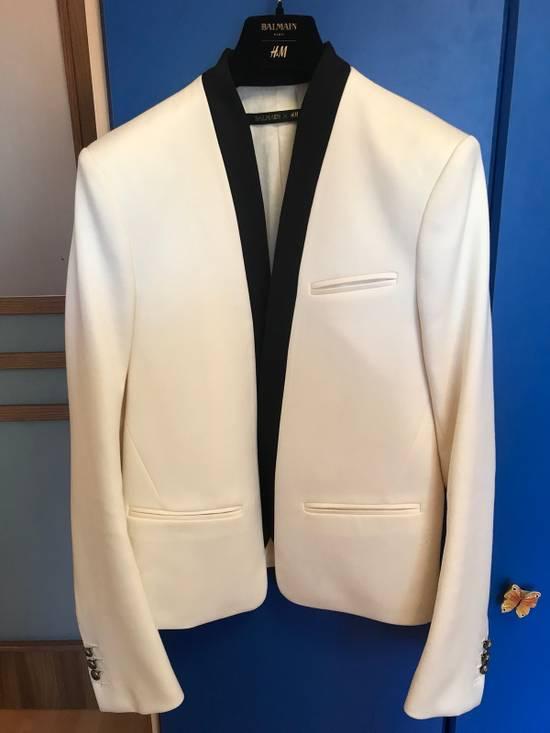 Balmain White Blazers Size 38R - 1