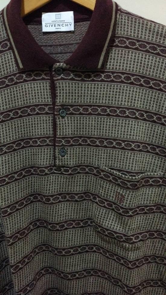 Givenchy Givenchy Pattern Polo L/S Size US M / EU 48-50 / 2 - 1