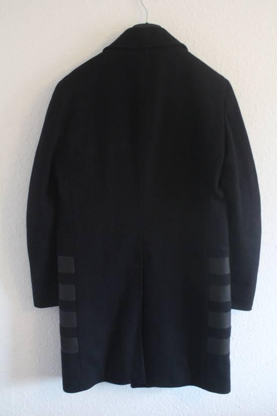 Helmut  Lang AW97 OG Archival Resin Stripe Military Coat Size US M / EU 48-50 / 2 - 6
