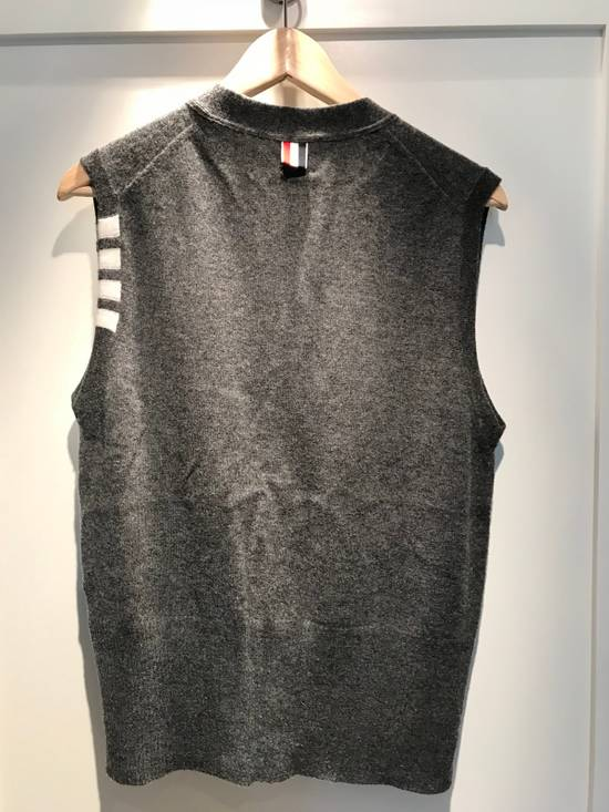 Thom Browne Thom Browne Men's Cashmere Vest Size US M / EU 48-50 / 2 - 1