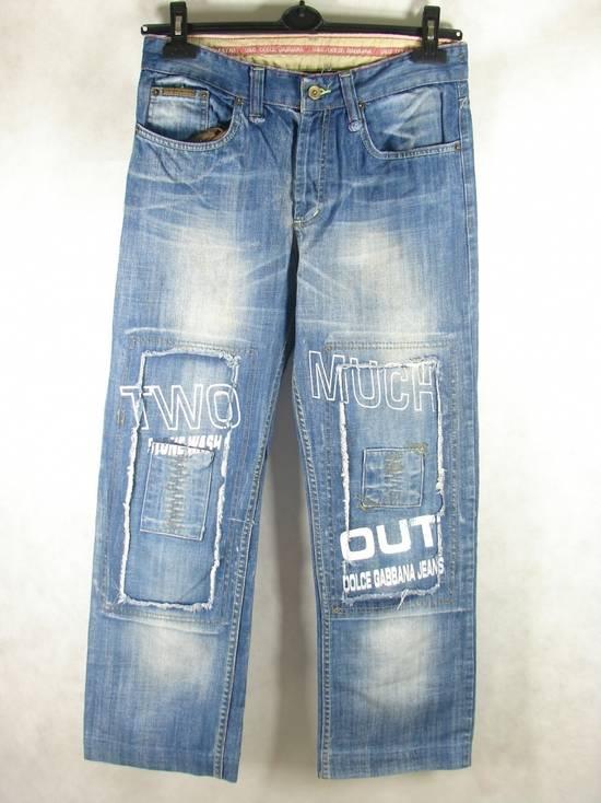 Dolce & Gabbana D&G W29 L32 Designer Jeans Trousers Size US 34 / EU 50 - 1