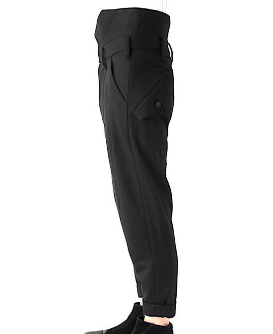 Julius Julius Cropped Military Wool Pants 597 PAM1 Sz.1 Size US 29 - 3