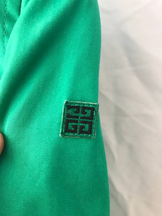 Givenchy Vintage light jacket Givenchy Play GGGG Big logo emroidery made by 1998 Authentic Not Versace , Gucci , Louis Vuitton , Off white , Supreme , Maison Margiela Size US M / EU 48-50 / 2 - 3
