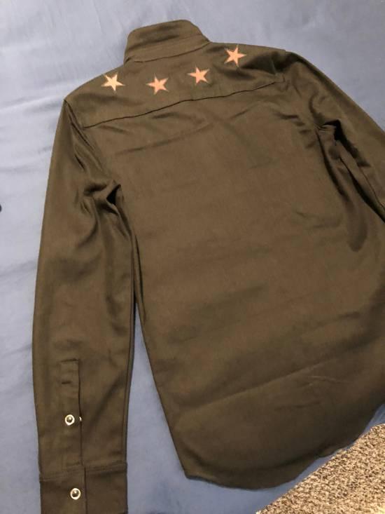 Givenchy Star Denim Shirt Size US M / EU 48-50 / 2 - 1