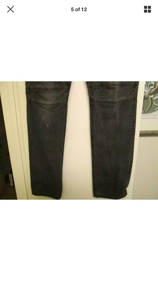 Balmain Beautiful Balmain Grey Denim Biker Jeans Size US 34 / EU 50 - 3
