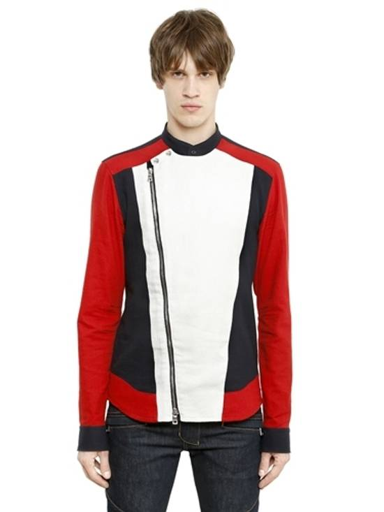 Balmain ZIP UP JAPANESE COTTON MOTO ST Size US M / EU 48-50 / 2